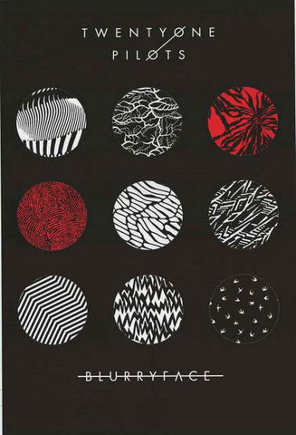 Twenty One Pilots Band Poster