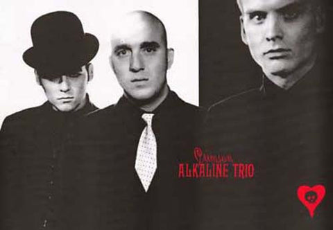 Alkaline Trio Crimson Look Sharp! Portrait 24x36 Poster