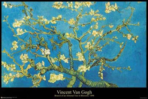 Vincent Van Gogh Almond Blossom Poster