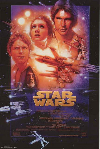 Star Wars Episode IV New Hope Poster
