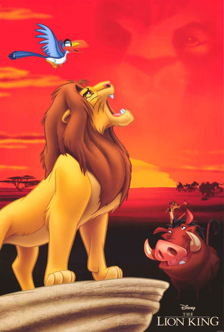 The Lion King Disney Movie Poster