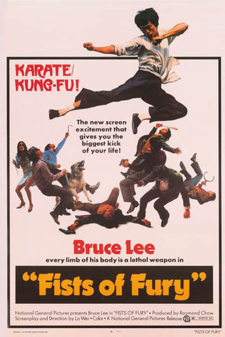 Bruce Lee Fists of Fury Movie Poster