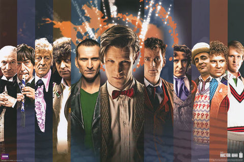 Doctor Who The Doctors Poster
