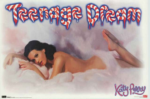 Katy Perry Teenage Dream Poster