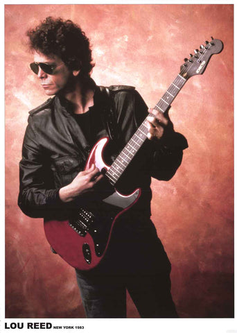 Lou Reed New York Poster