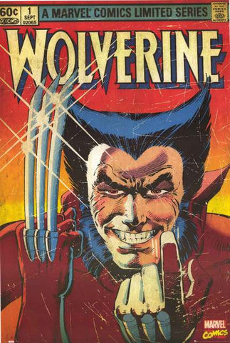 Wolverine Marvel Comics Poster