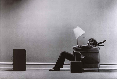 Maxell Tape Blown Away Ad Poster