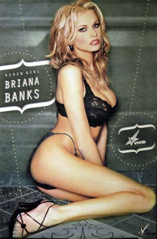VIVID GIRLS COLOR BRIANA BANKS 24x36 POSTER