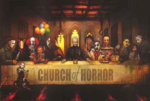 Horror Movie Last Supper Poster