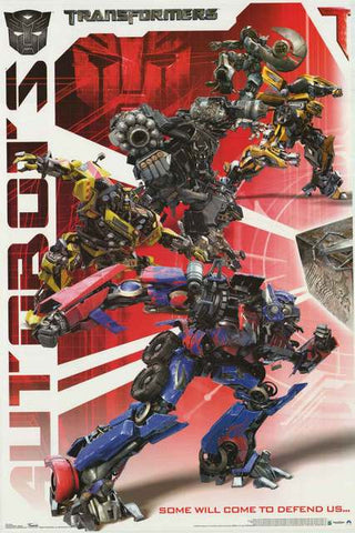 Transformers Autobots Movie Poster