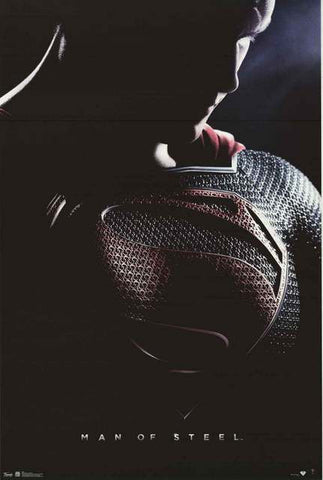 Superman Man of Steel Movie Poster
