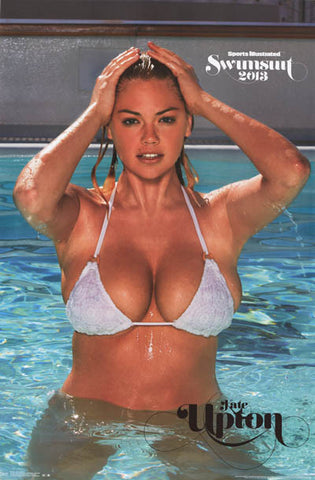 Kate Upton Sexy Wet SI Swimsuit Issue 2013 22x34 Poster