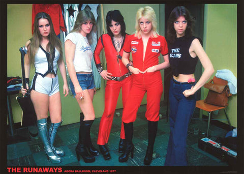The Runaways Cleveland 1977 Poster 24x33