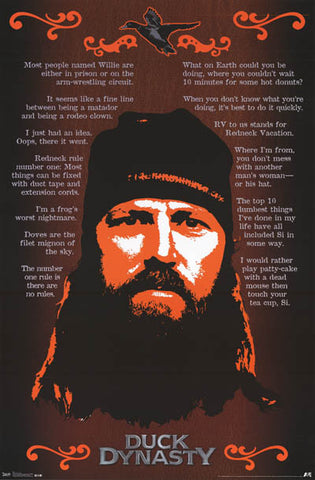 Duck Dynasty Funny Quotes Poster