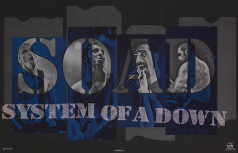 System of A Down Band Poster