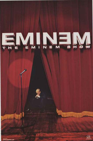 Eminem Album Cover Poster