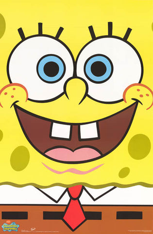 Spongebob Squarepants Cartoon Poster