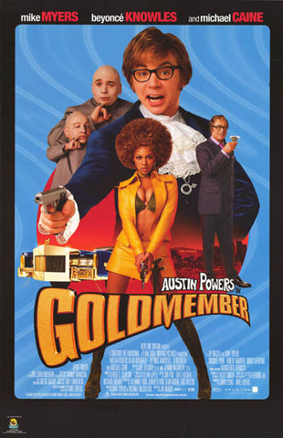 Austin Powers Goldmember Movie Poster