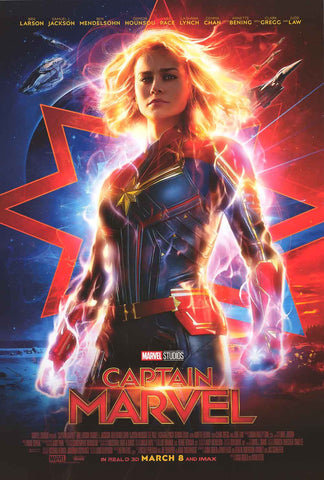 Captain Marvel Movie Poster