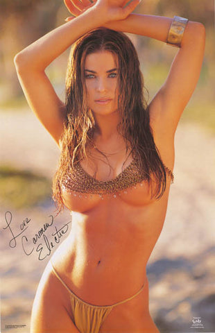Carmen Electra Pin-Up Poster