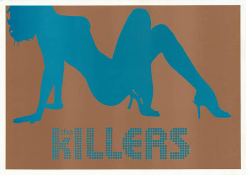 The Killers Band Poster