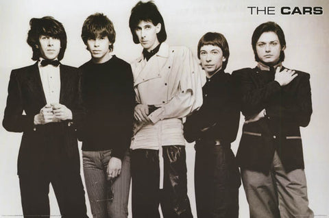 The Cars Group Portrait Ocasek Orr 24x36 Poster