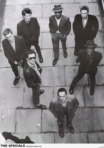 The Specials Coventry 1979 Poster