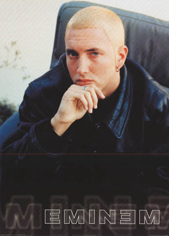 Eminem Leather Look Slim Shady Orig 2000 24x33 Poster