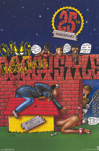 Snoop Dogg Doggystyle Album Cover Poster