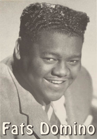 Fats Domino Portrait Poster