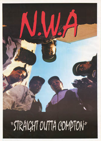 NWA Straight Outta Compton Eazy-E N.W.A. 25x35 Poster