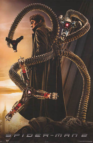 Spider-man Doctor Octopus Marvel Comics Poster