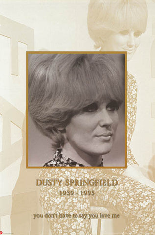 Dusty Springfield Portrait Poster