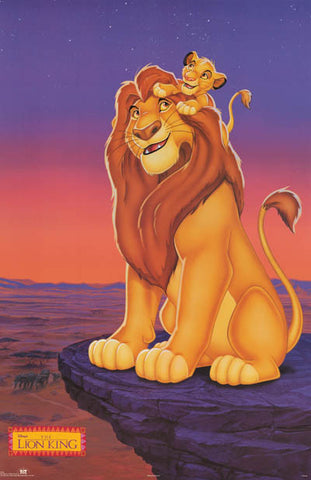 Lion King Disney Movie Poster