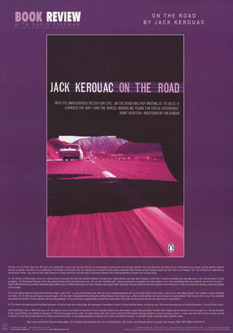 Jack Kerouac On the Road Poster