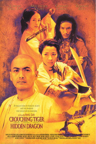 Crouching Tiger Hidden Dragon Collage 2001 Poster 24x36
