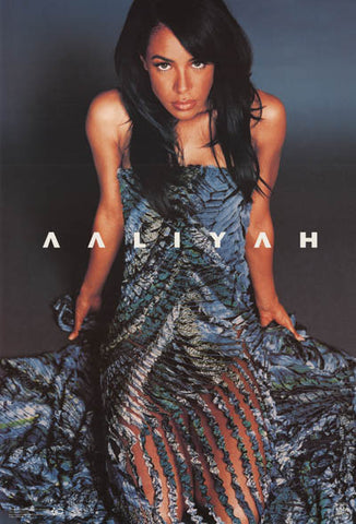 Aaliyah Portrait Poster