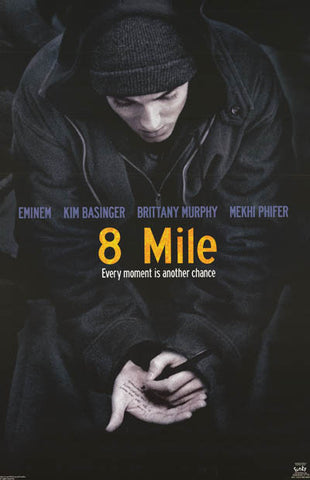 Eminem 8 Mile Movie Poster