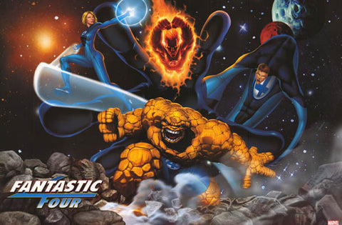 Fantastic Four Marvel Comics Poster