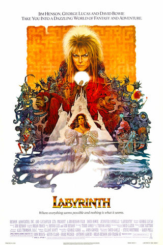 Labyrinth Movie Poster 24x36