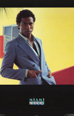 Miami Vice Philip Michael Thomas Poster