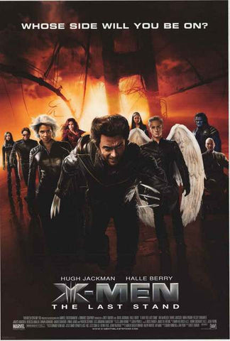 X-Men 3 Marvel Comics Movie Poster