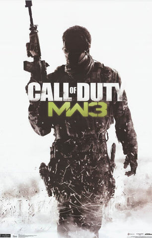 Call of Duty Modern Warfare 3 MW3 Soldier 22x34 Poster