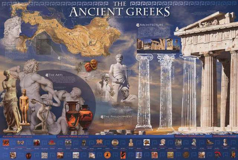The Ancient Greeks Poster