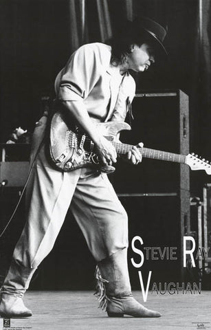 Stevie Ray Vaughan Live on Stage 24x36 Poster
