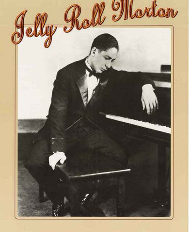 Jelly Roll Morton Jazz Poster