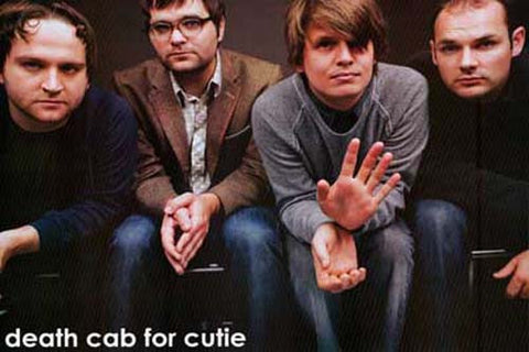 DEATH CAB FOR CUTIE GROUP 24x35 POSTER