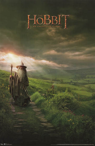 The Hobbit Gandalf Movie Poster