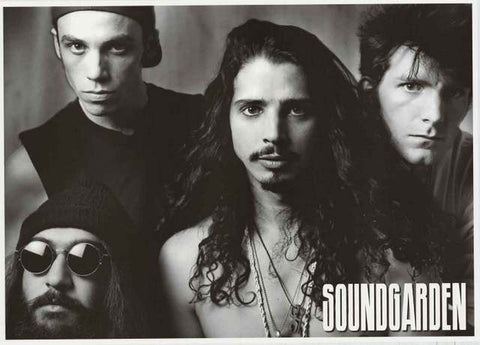 Soundgarden Band Poster
