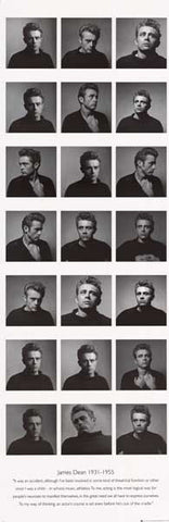 James Dean Quote Poster